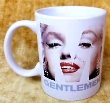 Marilyn Monroe Gentlemen Prefer Blondes World Quote Ceramic Coffee Mug Cup