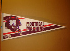 Montreal Machine World League of American WLAF Football Pennant
