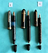 lot of fountain pen parts