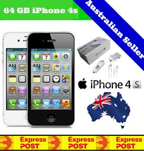 (NEW & SEALED IN BOX) Apple iPhone 4s   Factory Unlocked   Black 64GB 32GB 16GB