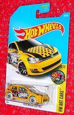 Hot Wheels  Volkswagen Golf MK7 HW Art Cars DTX92-D9B0A  A case