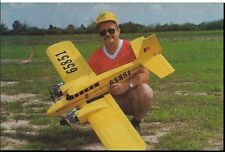 """""""Twin Star"""" 62 inch Wing Span  Sport  Giant RC Model AIrplane Plans"""