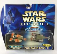 Micro Machines Star Wars Podracer Pack II Vehicles Episode I Phantom Menace 1998