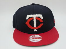 Minnesota Twins Letterman Throwback New Era 9FIFTY Custom MLB Snapback Hat Cap