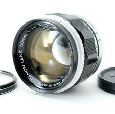 N.MINT Canon 50mm f/1.4 Leica Screw Mount LTM L L39 Lens w/Cap&Cover from Japan