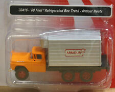 MiniMetals 30416 HO '60 Ford Refrigerated Box Truck-Armour Meats