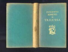 Trilussa,Duecento sonetti,Mondadori 1941 R