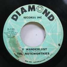 Vocal Group Rare 45 The Noteworthies - Meetin' At The Building / My Wanderlust O