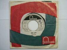 MANFRED MAN 45 TOURS ITALIE PROMO MIGHTY QUINN