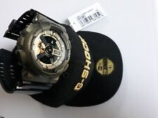 Casio G-Shock x New Era GA-110NE-9A Black and Gold Limited and Rare New