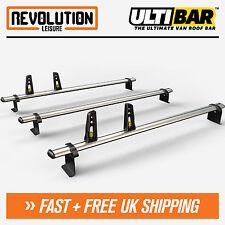 Ford Transit Connect LWB Roof Rack Ladder Bars 3 x Van Guard ULTI Bar 2014+