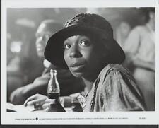Whoopi Goldberg face close up Jumpin' Jack Flash 1986 original movie photo 17176