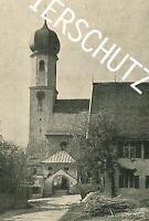 Gmund am Tegernsee - Pfarrkirche St. Ägidius - um 1914 - A 26-24