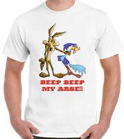 Mens Funny T-Shirt Beep Beep My Arse - Cartoon