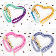 1.5m Colourful Pet Dog Leads Strong Braided Rope Small Large Dogs Walking Leash
