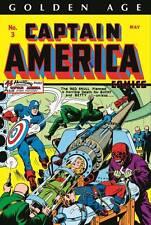GOLDEN AGE CAPTAIN AMERICA OMNIBUS VOL #1 HARDCOVER Marvel Comics DM VARIANT HC