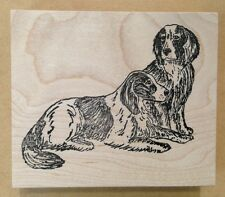 Wood Mounted Rubber Stamps, Animals, Canines, Dog Stamps, Two Dogs, Pets
