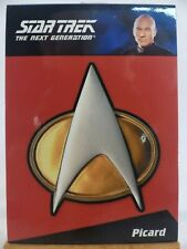 The Complete Star Trek The Next Generation TNG - CP1 Cpt Picard combadge 177/300