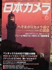 Japan Nihon Camera magazine June 2010 Japanese mook NEX 3 5 US seller