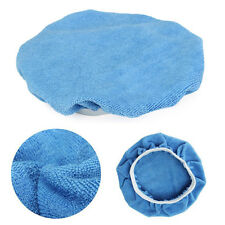 "1pc Car Polisher 9""/10"" Pad Soft Microfiber Polishing Bonnet Buffing Pads Cover"