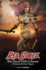 Sideshow Red Sonja She-Devil with Sword Premium Format Figure Statue