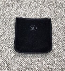 Genuine Chanel Velvet Compact Pouch