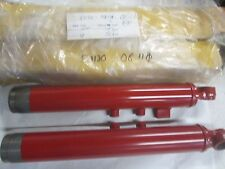 SUZUKI S32-2 T200 TC200 RIGHT AND LEFT  HAND OUTER  FORK LOWER LEG SET  NOS!