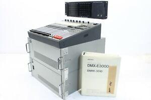Sony Digital Audio Mixer DMX-E3000 with Service Manual