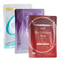 DHC Facial Sheet Mask Variety Pack, includes 3 sheet masks and four free samples