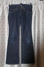 Lee Damen Stretch Schlag Jeans ~ Gr. 28 (UK 10) ~ Low Rise