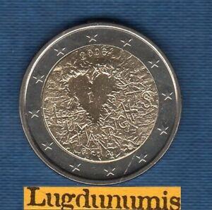 2 euro Commémo 2008 Droits de L'Homme SUP SPL - Finland