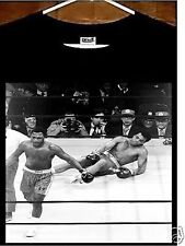 Muhammad Ali T shirt; Joe Frazier vs Muhammad Ali KO Tee shirt