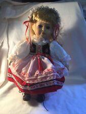 Vintage Leonardo Collection. Porcelain Doll (CG06/130)