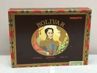 Bolivar 8 Robusto Handmade Since 1985 Cigar Box