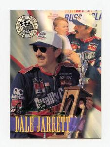Dale Jarrett 1996 Press Pass Premium Emerald Proof 338/380 Parallel Insert Card