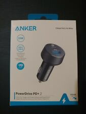 Anker 2-Port PowerDrive 33W Power Delivery Car Charger. Model A2721