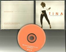 TINA TURNER When the Heartache is over 1999 PROMO Radio DJ CD Single USA MINT