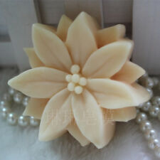 Flower Soap Molds Candle Mould DIY Homemade Mold Craft Plaster Resin Wax Mold