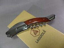 LAGUIOLE  Korkenzieher - Sommelier Messer - Pear Wood - Neu - 268781