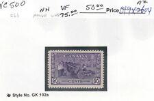 VC500 CANADA #261 MINT OG NH VF -  $75.00