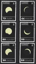 Alderney 2017 Coastal eclipsa a set of 6 Fine Used