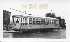 6F480 RP 1940/60s? UNITED ELECTRIC RAILWAY CAR #2180  PROVIDENCE RI