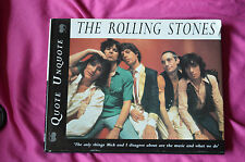 The Rolling Stones Quote Unquote by Jon Ewing,HB pub 1966