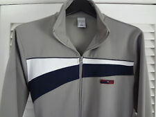 New Mens Gray Blue Full Zip Sweatshirt Old Navy Coat Athletic Track Jacket Small