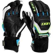 Leki  Ski Gloves Worldcup Race Coach Flex S Gtx Blue & Black 7.5 Style 63480133