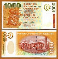 Hong Kong, $1000, 2003, SCB, P-295, UNC > Dragon