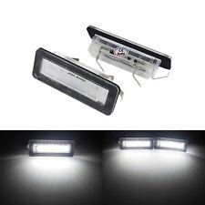 FEUX ECLAIRAGE DE PLAQUE LED BLANC XENON SMART FORTWO Cabrio Coupé 450 451 453
