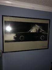 STEVE STEIGMAN Porsche Targa The Weaver Gallery Printed in France RARE ORIGINAL!