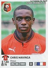N°349 CHRIS MAVINGA # STADE RENNAIS VIGNETTE STICKER  PANINI FOOT 2013