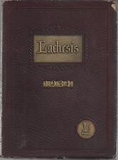 1934 NAUGATUCK HIGH SCHOOL YEARBOOK, LACHESIS, NAUGATUCK CONNECTICUT